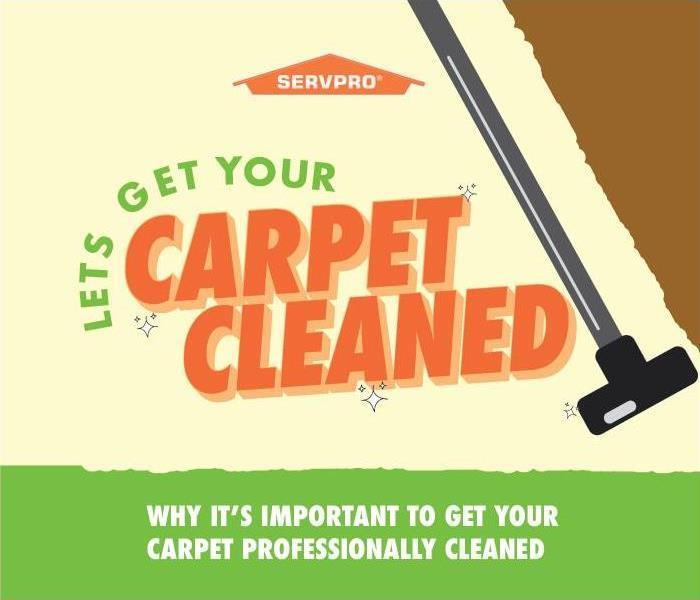"Illustration of title ""Let's Get Your Carpet Cleaned"" : Why It's Important To Get Your Carpet Professionally Cleaned"