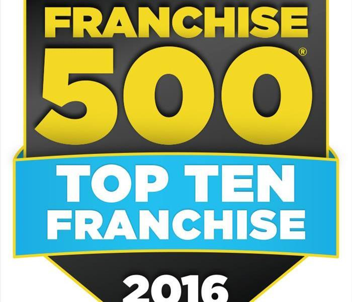 Community SERVPRO Named to Entrepreneur's Top 10 Franchise List for 7th Consecutive Year